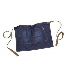 Comprar Delantal M711 Vaquero corto con bolsillos. Workteam