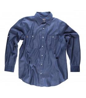 Comprar Camisa B8700 Vaquera para Hombre de manga larga. Workteam