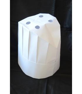 Comprar Gorro de cocina continental desechable papel - IBP - PACK 100 uds