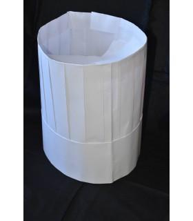 Comprar 100 uds. Gorro de cocina continental desechable papel - IBP