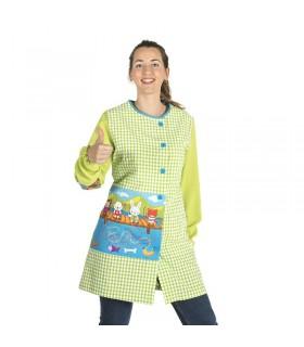 Comprar Bata señora 5949 Diseño de Pesca. Garys