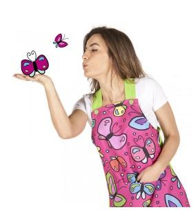 Comprar Pichi 6429. Sin mangas. Diseño mariposas. Garys