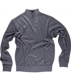 Comprar Jersey S5601 Punto fino con cuello alto con cierre de cremallera. WorkTeam