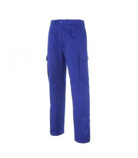 Comprar Pantalón 16380 con media cintura elástica multibolsillos acolchado. Seana Textil