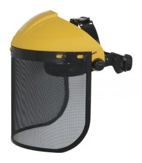 Comprar Portavisera PICO2 con protección frontal y visera de rejilla . Deltaplus