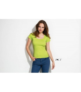 Comprar Camiseta 11865 de mujer con cuello redondo. Sols