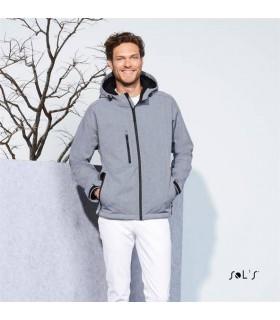 Comprar Chaqueta softshell REPLAY MEN 46602 con capucha. Sol´s
