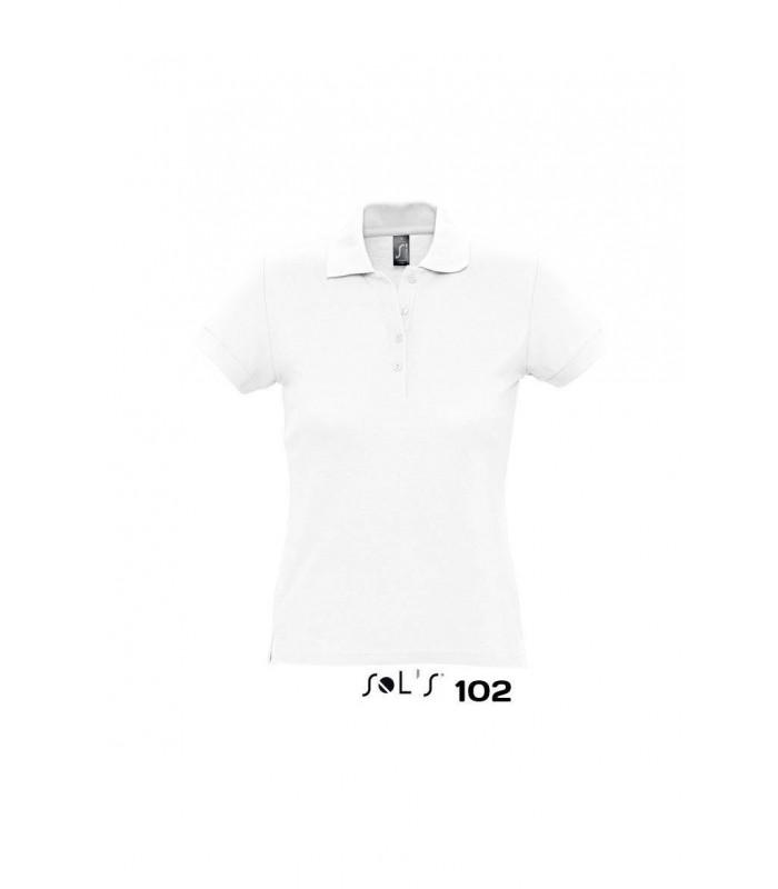 Polo PASION 11338 de manga corta para mujer. Sol´s