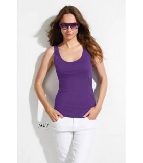 Comprar Camiseta SAINT-GERMAIN 11808 de tirantes slub de mujer. Sols