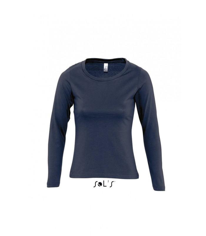 Camiseta MAJESTIC 11425 de mujer de manga larga. Sols