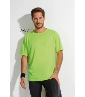 Comprar Camiseta SPORTY 11939 Running de hombre con manga raglán. Sol´s