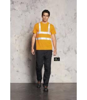 Camiseta MERCURIO PRO 01721 con tiras del alta visibilidad. Sols