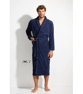 Comprar Albornoz PALACE 89100 unisex con cuello kimono. Sols
