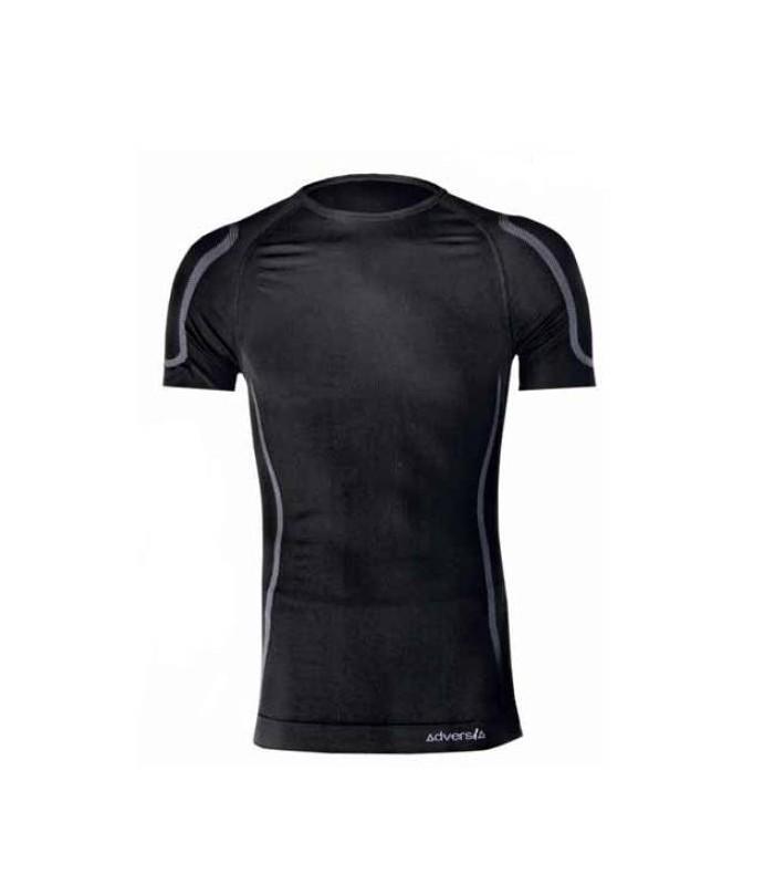 Camiseta 6007 interior Térmica con cuello caja y manga corta. Adversia