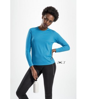 Comprar Camiseta SPORTY LSL WOMEN 02072 Running de manga Larga. Sol´s