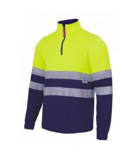 Comprar Sudadera 305701 bicolor de alta visibilidad. Velilla