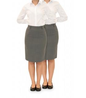 Comprar Falda 4042-2009 de traje sin bolsillos. Bielástica. Dacobel