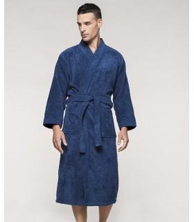 Comprar Albornoz K115 con cuello kimono de Algodón. Linitex