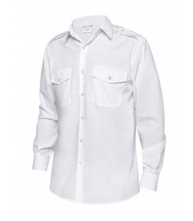 Comprar Camisa 2002 Manga larga. Bolsillo en pecho con charreteras. Monza