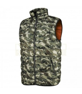 Comprar Chaleco 04009 VANCOUVER Acolchado ligero de camuflaje. Issa Line