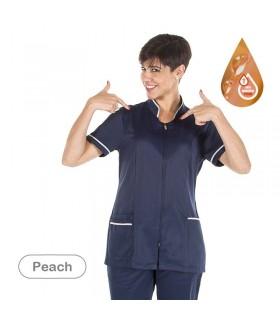 Comprar Casaca 6566 IRENA con tejido Peach y cuello Mao. Garys