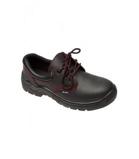 Comprar Zapato Z200A de piel de flor con puntera de acero. Velilla