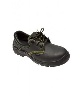 Comprar Zapato Z280A de piel flor hidrofugada con plantilla y puntera libre de metal. Velilla