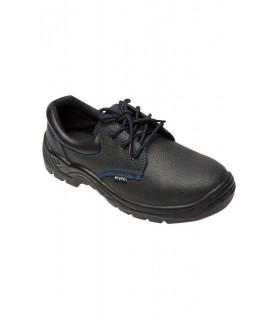 Comprar Zapato Z270A de piel flor hidrofugada con plantilla y puntera de acero. Velilla