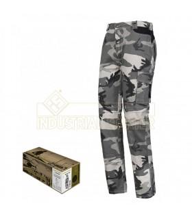 Pantalón 8029NB Desmontable de camuflaje. Issa Line