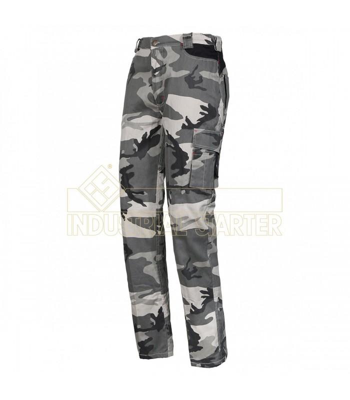Pantalón 8029NW Desmontable de camuflaje con forro interior. Issa Line