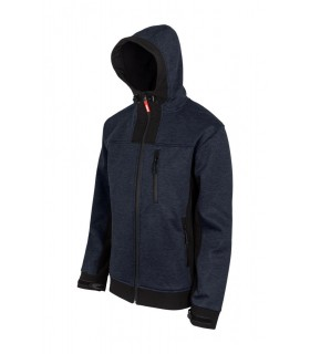 Comprar Chaqueta 206007 Soft shel bicolor con capucha. Velilla