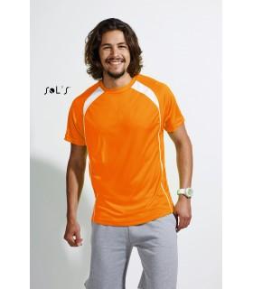 Comprar Camiseta 11422 MATCH bicolor de hombre. Sol´s