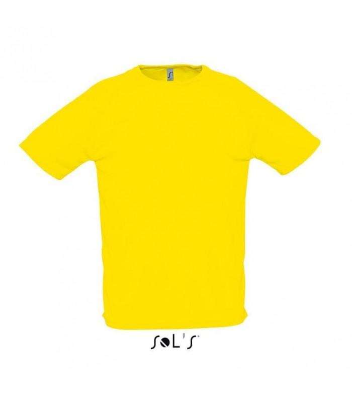 Camiseta SPORTY 11939 Running de hombre con manga raglán. Sol´s