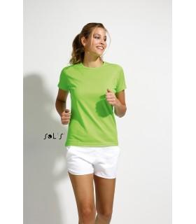 Comprar Camiseta SPORTY 01159 Running de mujer con manga raglán. Sol´s