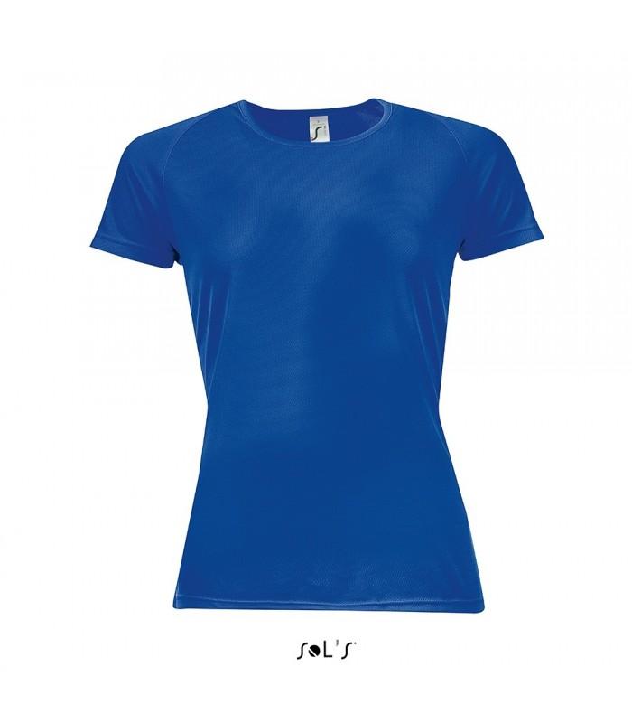 Camiseta SPORTY 01159 Running de mujer con manga raglán. Sol´s