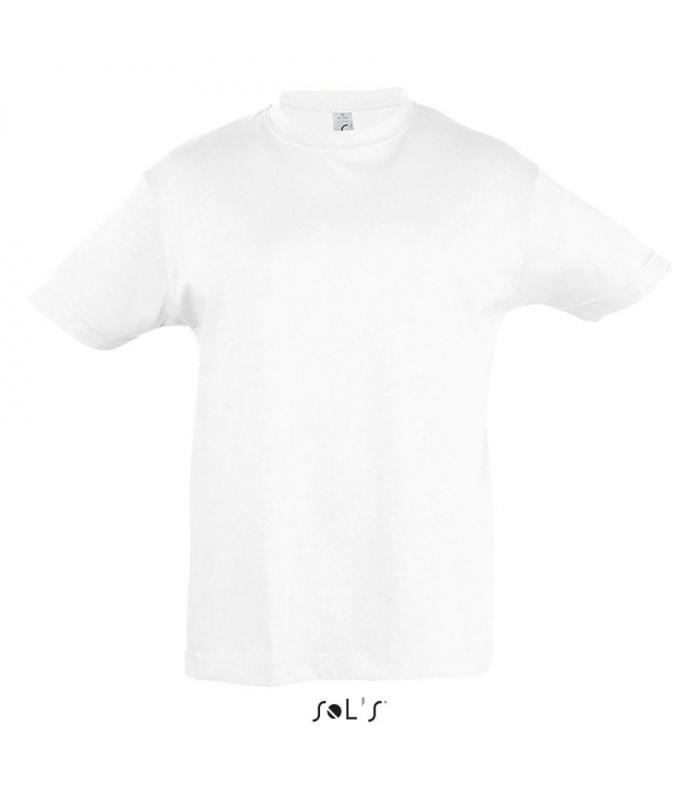 Camiseta 11970 REGENT de niños con cuello redondo. Sols