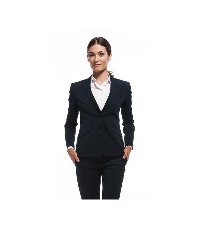 Americana 2022-6173 de traje para señora de sarga elástica. Dacobel