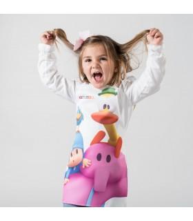 Comprar Delantal 1119 diseño POKOYO AMIGOS sin bolsillo para niños. Garys