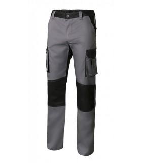 Comprar Pantalón 103020B bicolor multibolsillos de poliéster y algodón. Velilla