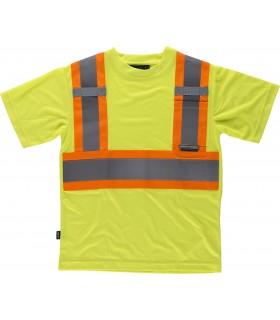 Comprar Camiseta C3645 de manga corta Alta Visibilidad. Workteam
