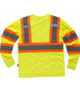 Comprar Camiseta C3633 de manga larga de Alta Visibilidad. Workteam