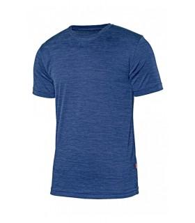 Comprar Camiseta técnica 105507 jaspeada de manga corta. Velilla