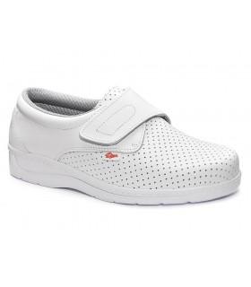 Zapato 1900 de velcro perforado, ligero y flexible. Dian