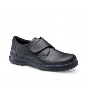 Comprar Zapato BETA GRIP de piel autentica de vacuno perforada. Mayor agarre. Feliz caminar
