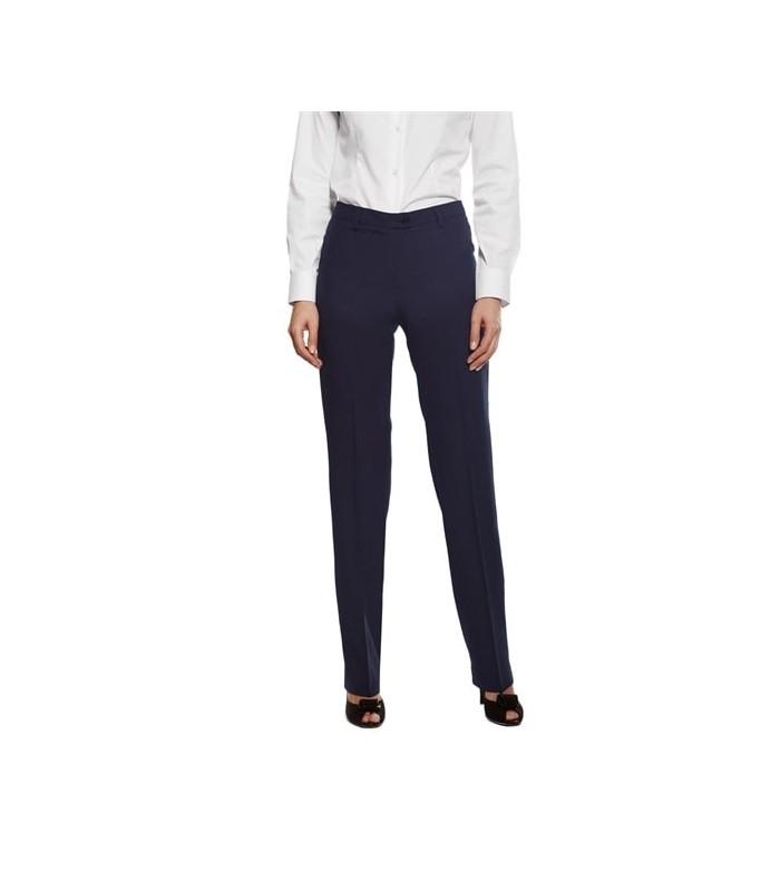 Pantalón S-2/00-6179 de traje económico sin bolsillos para señora. Dacobel