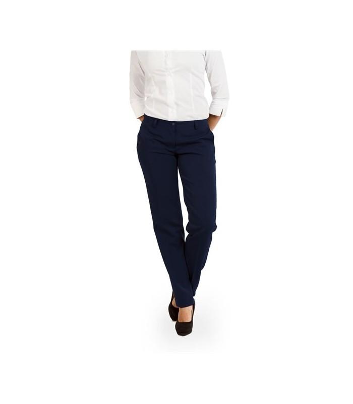 Pantalón S-21 de traje para señora con corte joven. Dacobel