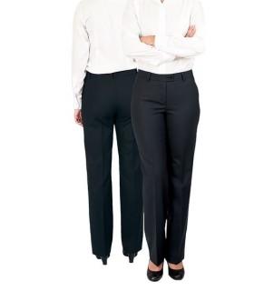 Pantalón S10-6180 de traje para señora sin pinzas. Strech. Dacobel