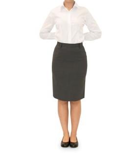 Falda 4038-6180 de traje con bolsillos. Dacobel