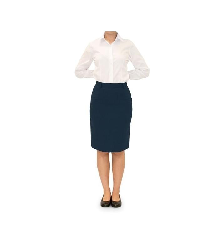 Falda 4038 de traje con bolsillos. Dacobel