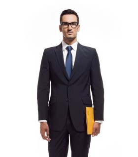 Comprar Americana 1004 de traje para caballero semi entallada. Dacobel